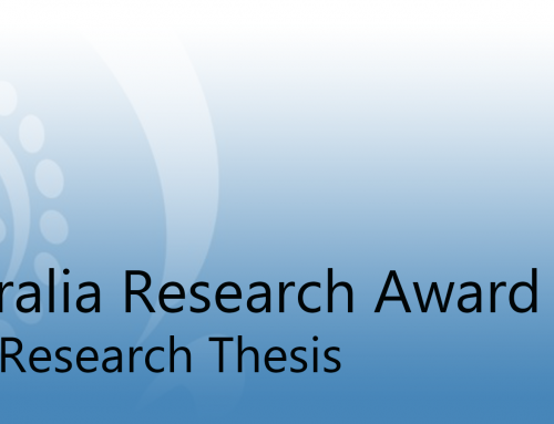 Drama Australia Research Award – Distinguished research thesis